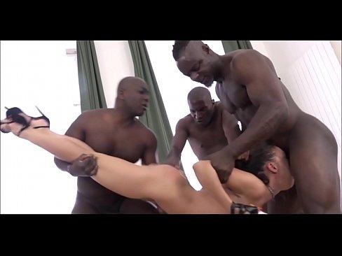 EXTREME! Brutal anal gangbang – Brutal-Clips.com